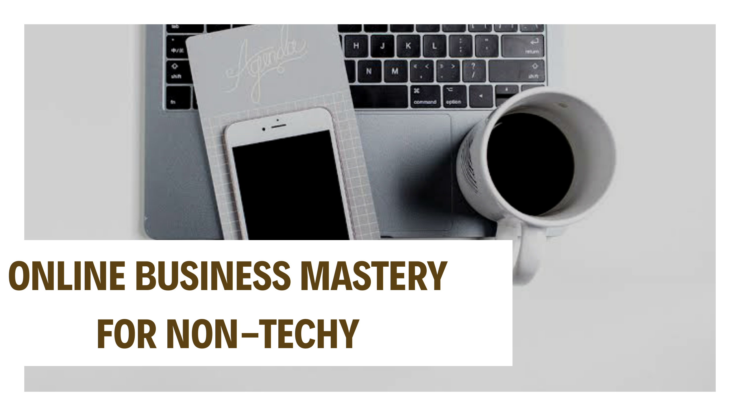 ONLINE BUSINESS MASTERY FOR NON-TECHIE