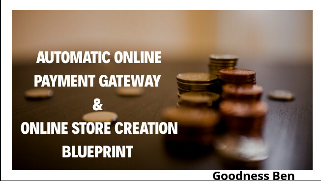 ONLINE STORE & PAYMENT GATEWAY SETUP
