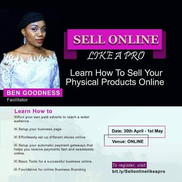 SELL ONLINE LIKE A PRO (REPLAY)
